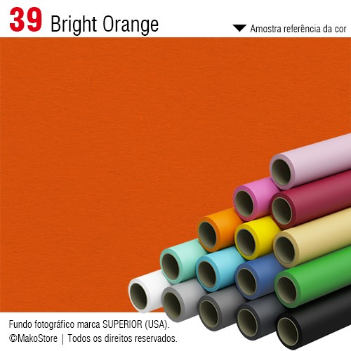 Fundo SUPERIOR | 39 Bright Orange