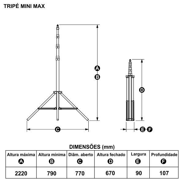 Mini MAX | PROFESSIONAL LIGHT STAND