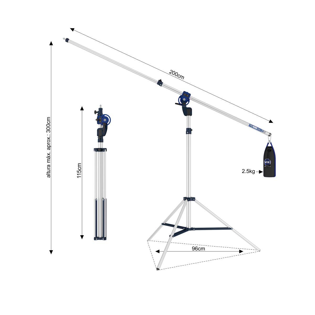 Professional LED Studio 80 Foto e Vídeo 8