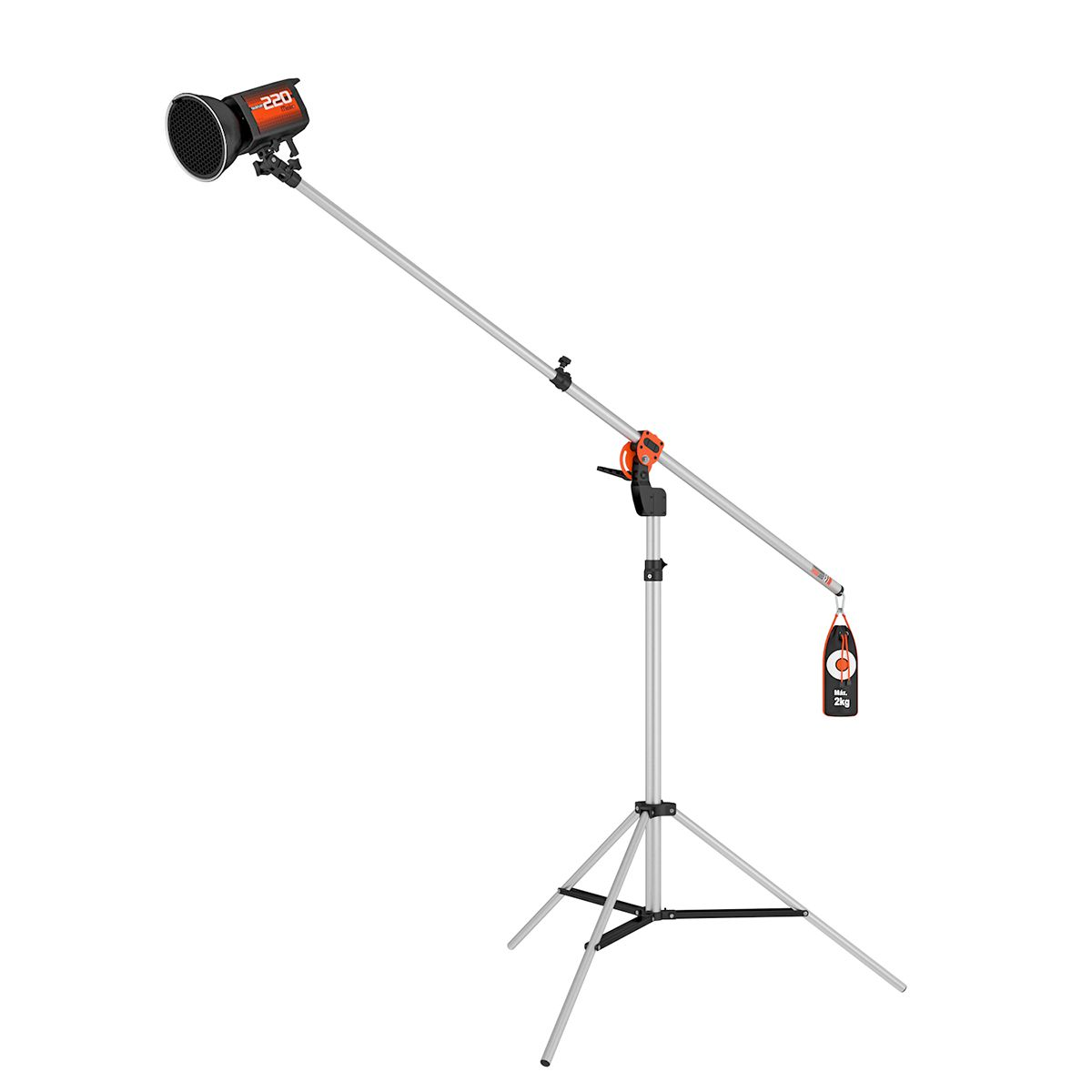 Professional Starter Lightboom - Digital Bivolt