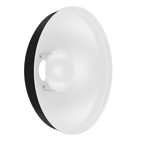 Refletor Beauty Dish G3 480mm - BRANCO