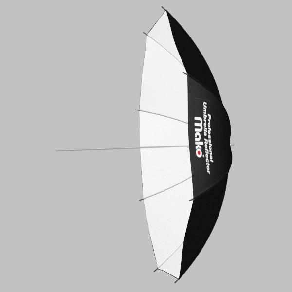 Sombrinha Rebatedora BRANCA - 109,5cm