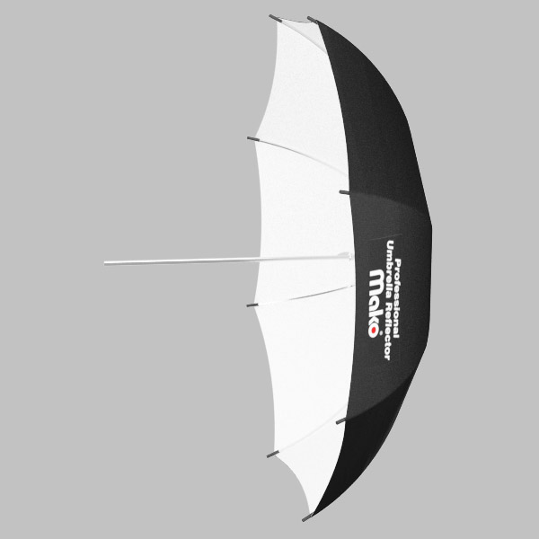Sombrinha Rebatedora BRANCA - 73,5cm