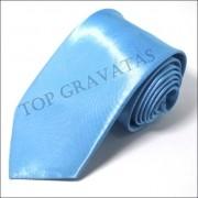 Gravata Azul Celeste com Brilho