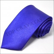 Gravata Lisa Azul Royal