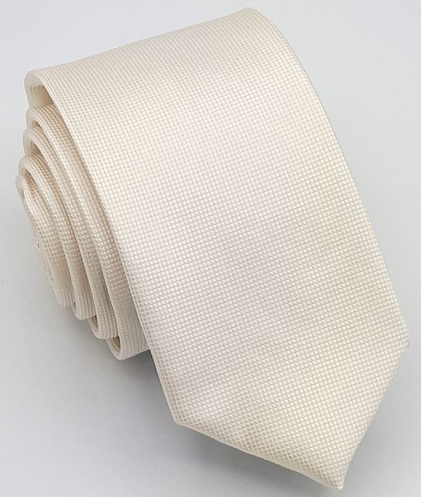 Gravata OFF WHITE Trabalhada