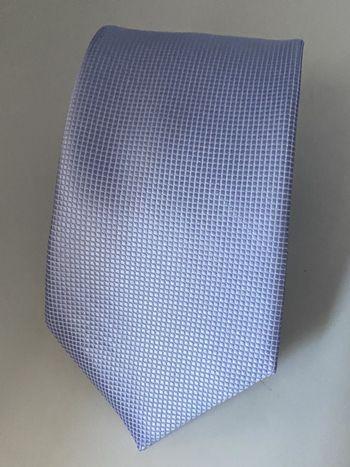 Gravata Azul Serenity clara Trabalhada