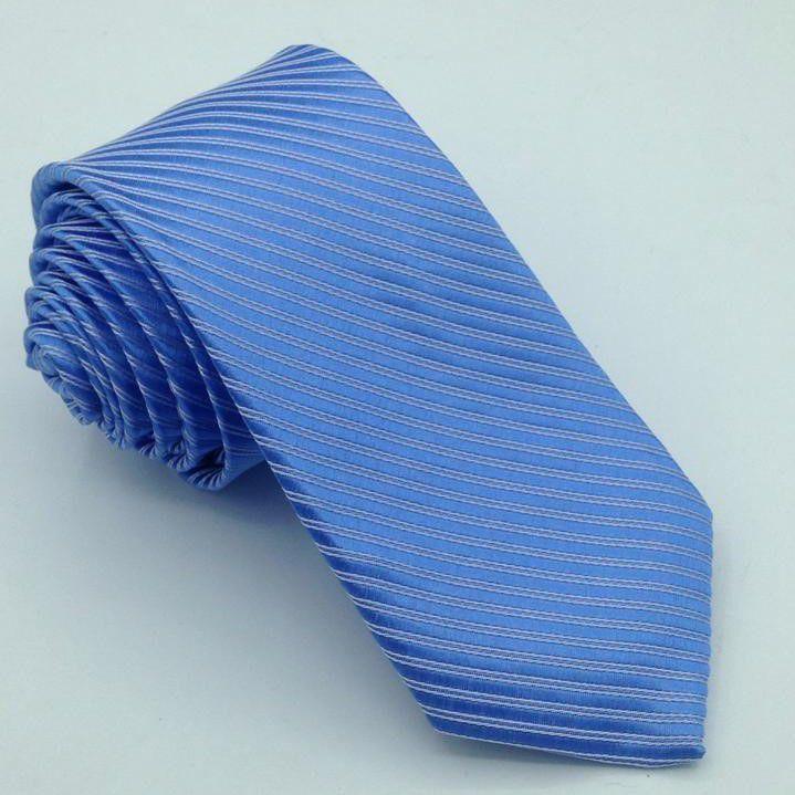 Gravata Azul Serenity Trabalhada