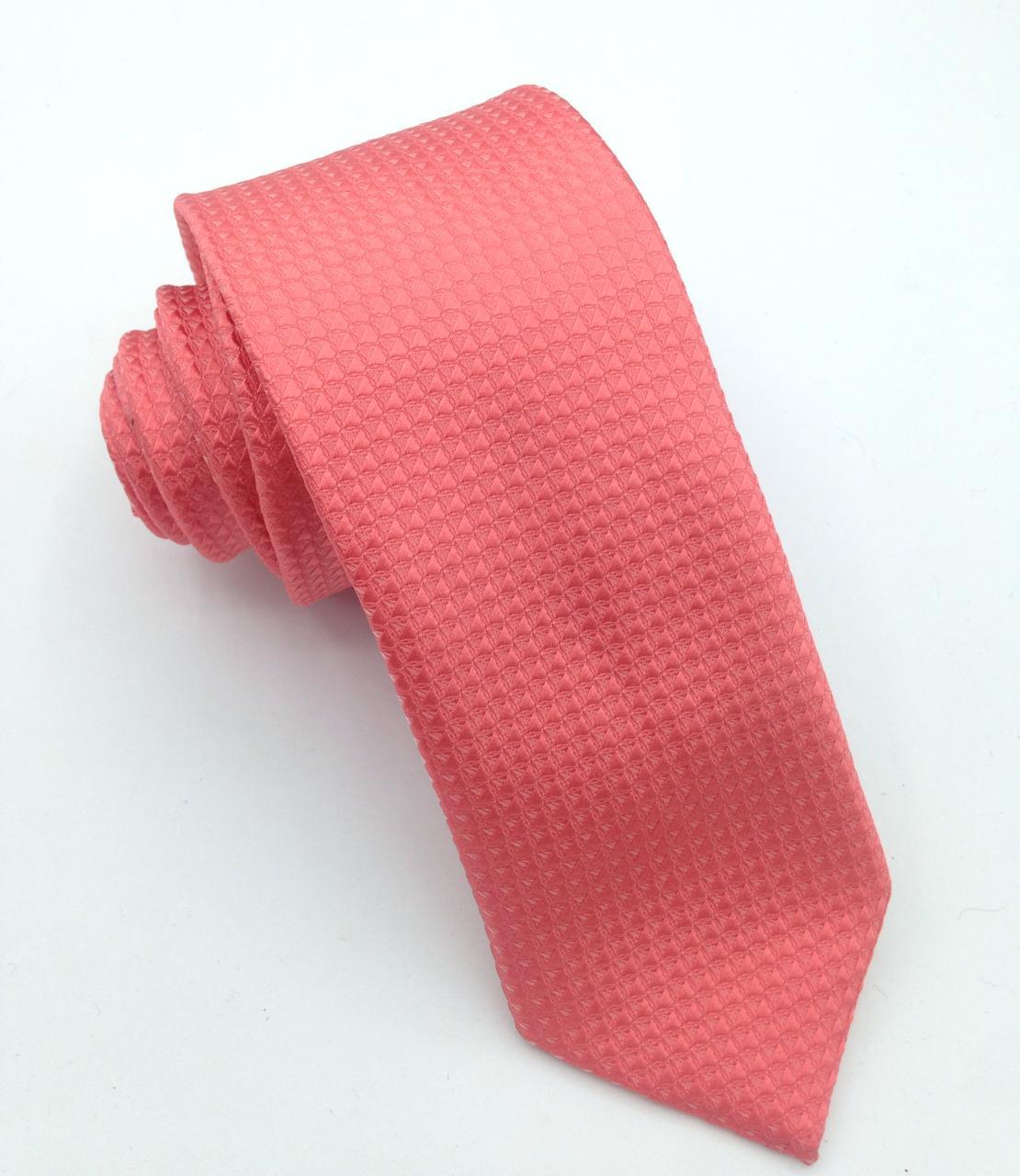 Gravata Coral Trabalhada