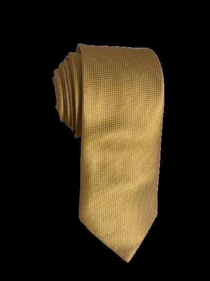 Gravata Dourada trabalhada