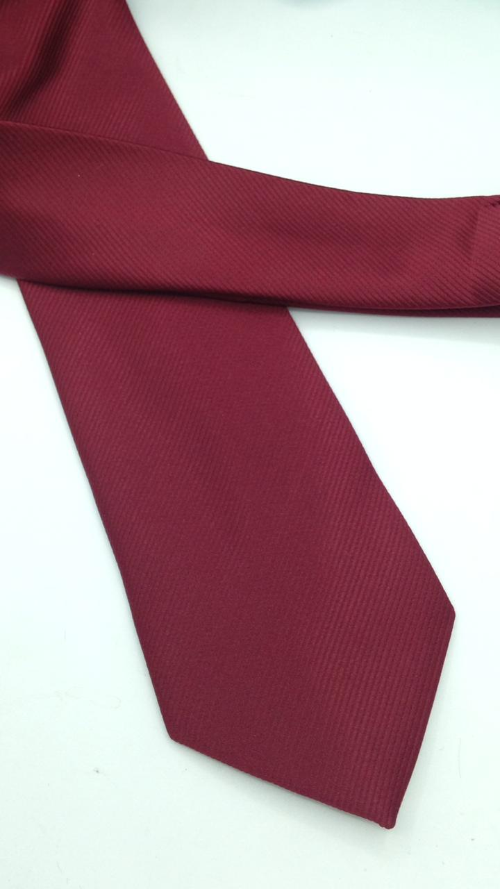 Gravata Marsala Trabalhada