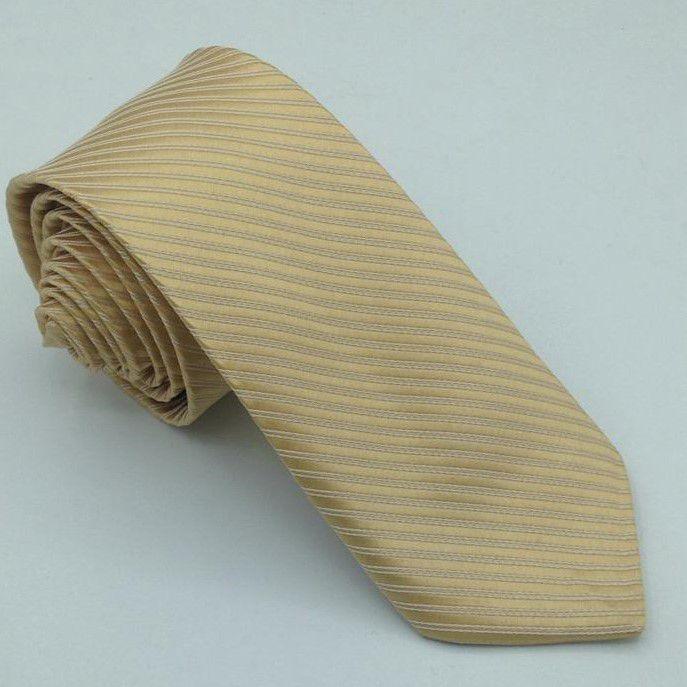 Gravata dourado nude Trabalhada