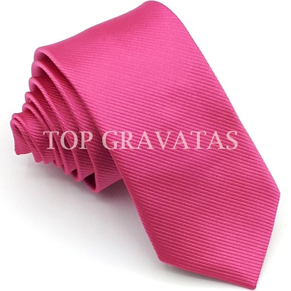Gravata Pink Trabalhada