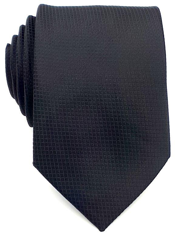 Gravata Preta trabalhada