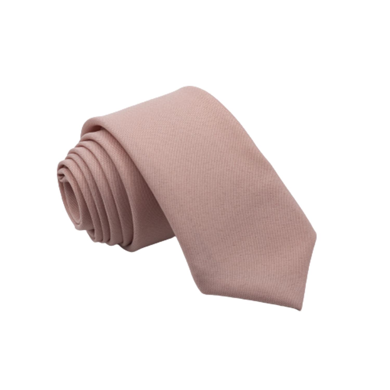 Gravata Rosê lisa