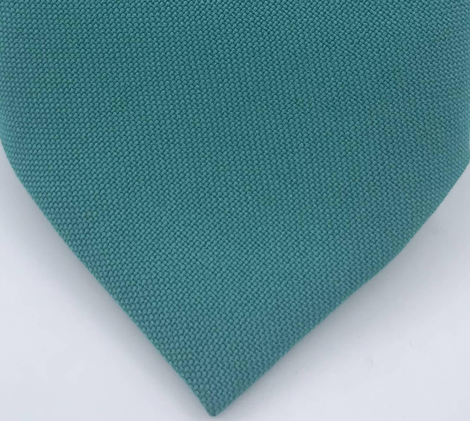 Gravata Semi- Slim Verde Esmeralda Lisa Fosca
