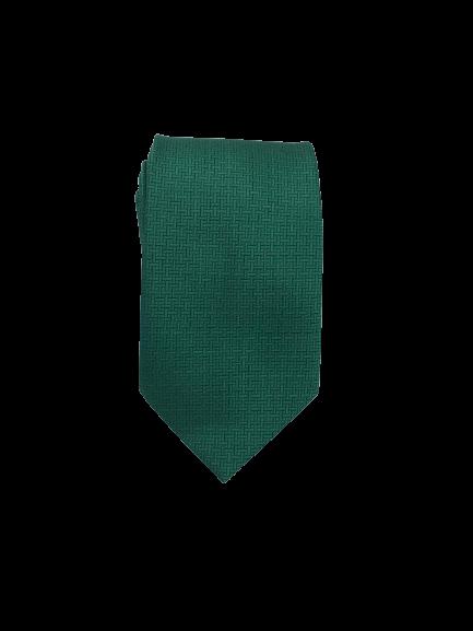 Gravata Trabalhada Verde