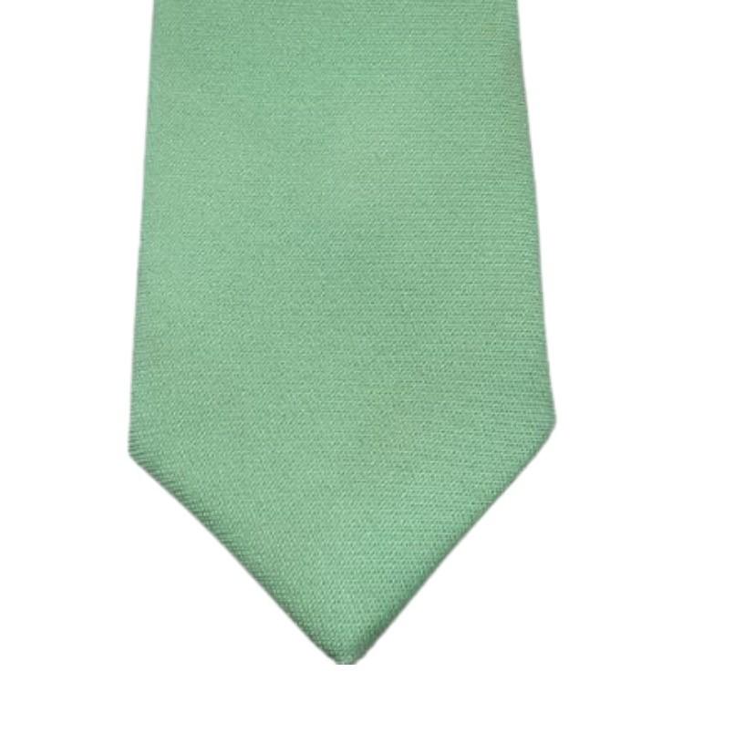 Gravata Verde tiffany , menta  lisa fosca