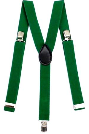 Suspensório de 2,5 cm Verde Bandeira