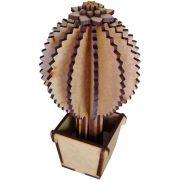 Cacto 3d 03 com vasinho