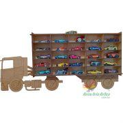 Caminhão Coleção de Carrinhos 25 carros