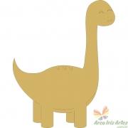 Dinossauro infantil 08x10cm Aplique MDF cru 3mm