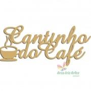 Frase Cantinho do Café 40cm