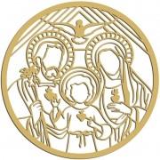 MANDALA SAGRADA FAMILIA 45CM