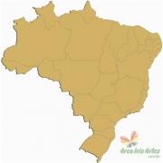 Mapa do Brasil 60cm