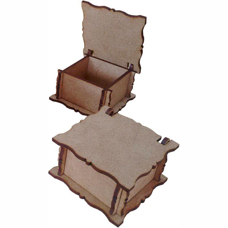 Caixa quadrada 05x05x03cm