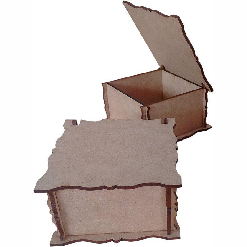 Caixa quadrada 08x08x05cm