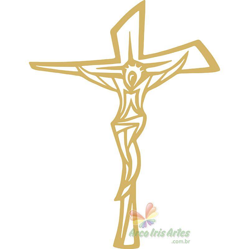 Cruz JESUS 23X30cm