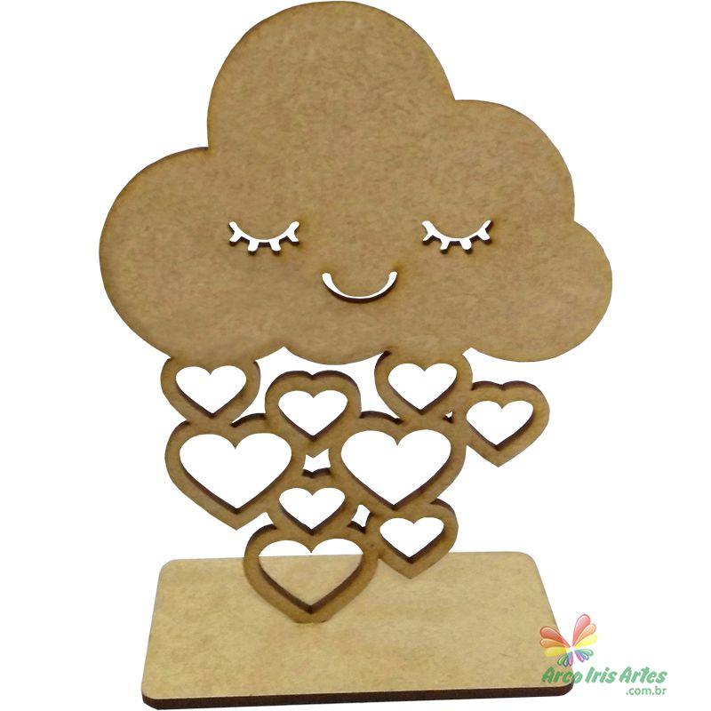 Nuvem Chuva de Amor com base 15cm