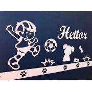 Kit Painel de Parede Brinquedos Cachorrinho Personalizado MDF CRU