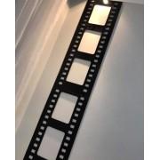 Placa decorativa Rolo de Filme 90cm Decoração Ambiente