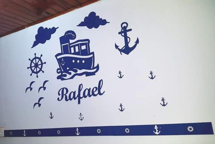 Kit Painel de Parede Marinheiro Acrílico