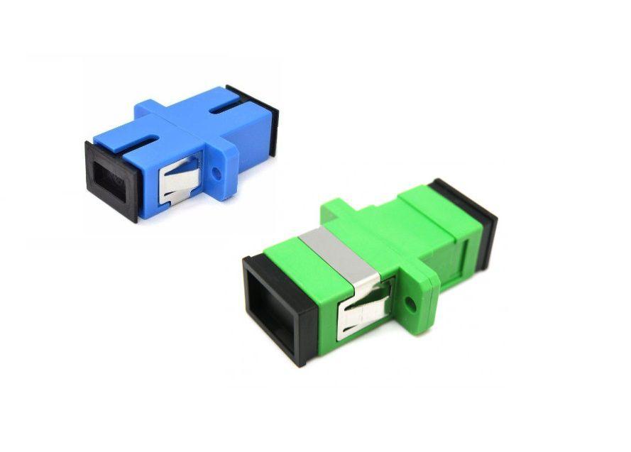 Adaptador Óptico SC/APC OU SC/UPC