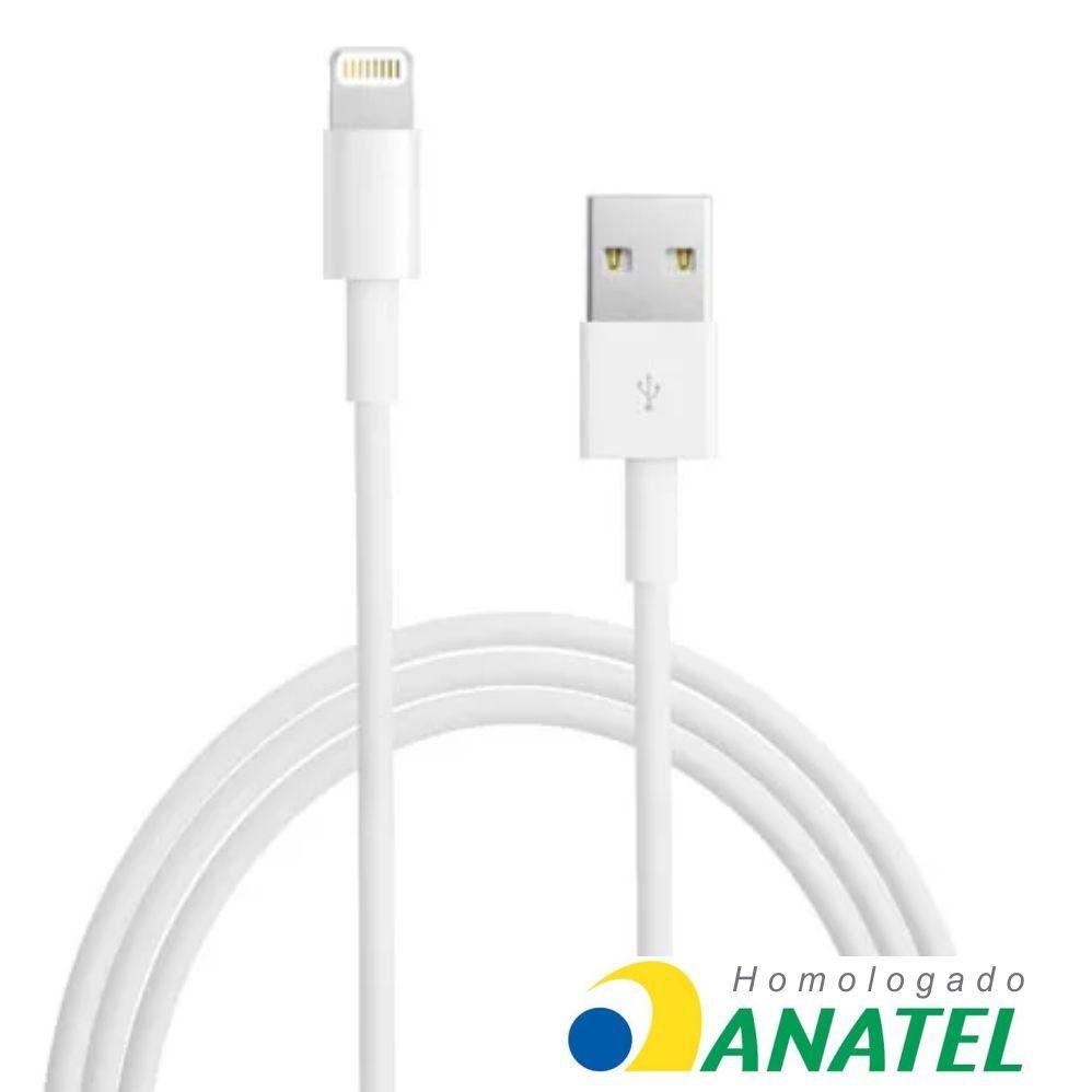 Cabo USB IPHONE 5 E 6 Homologado 1M USB-LT2000WH Pluscable