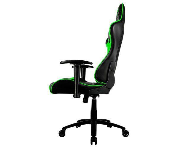 Cadeira Gamer Profissional THUNDERX3 TGC12 Preta/Verde