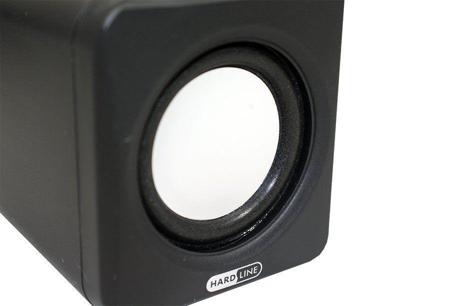 Caixa de Som 2.0 6W USB Hardline GT-SP29