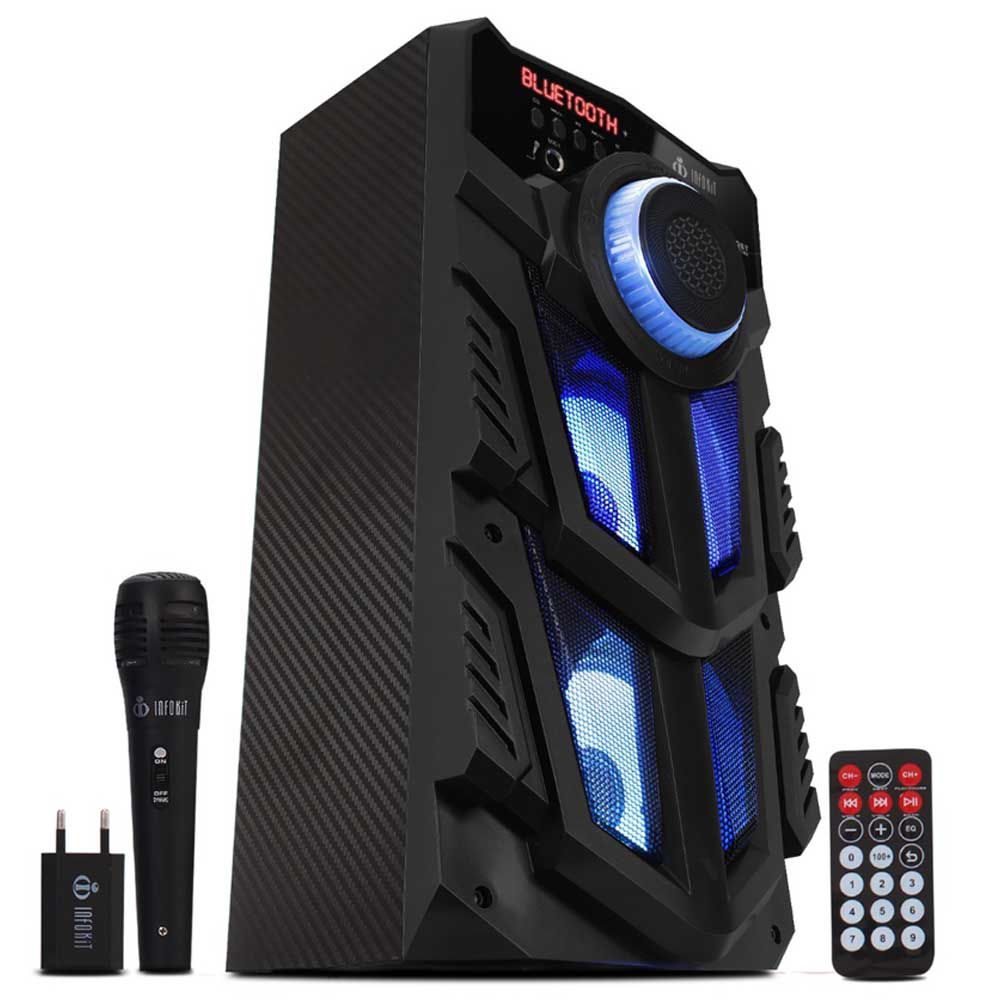 Caixa de Som Bluetooth SD/USB/FM Super Bass VC-M883QBT