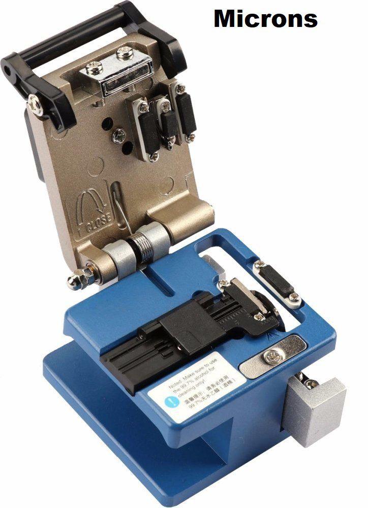 Clivador Cortador de Fibra Optica Fiber Cleaver Fc-6s 250-900 Microns