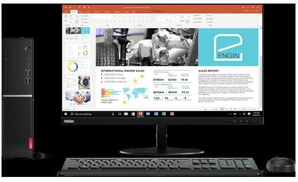 Computador Desktop Lenovo V520S i3 4GB 500GB Win10 Pro