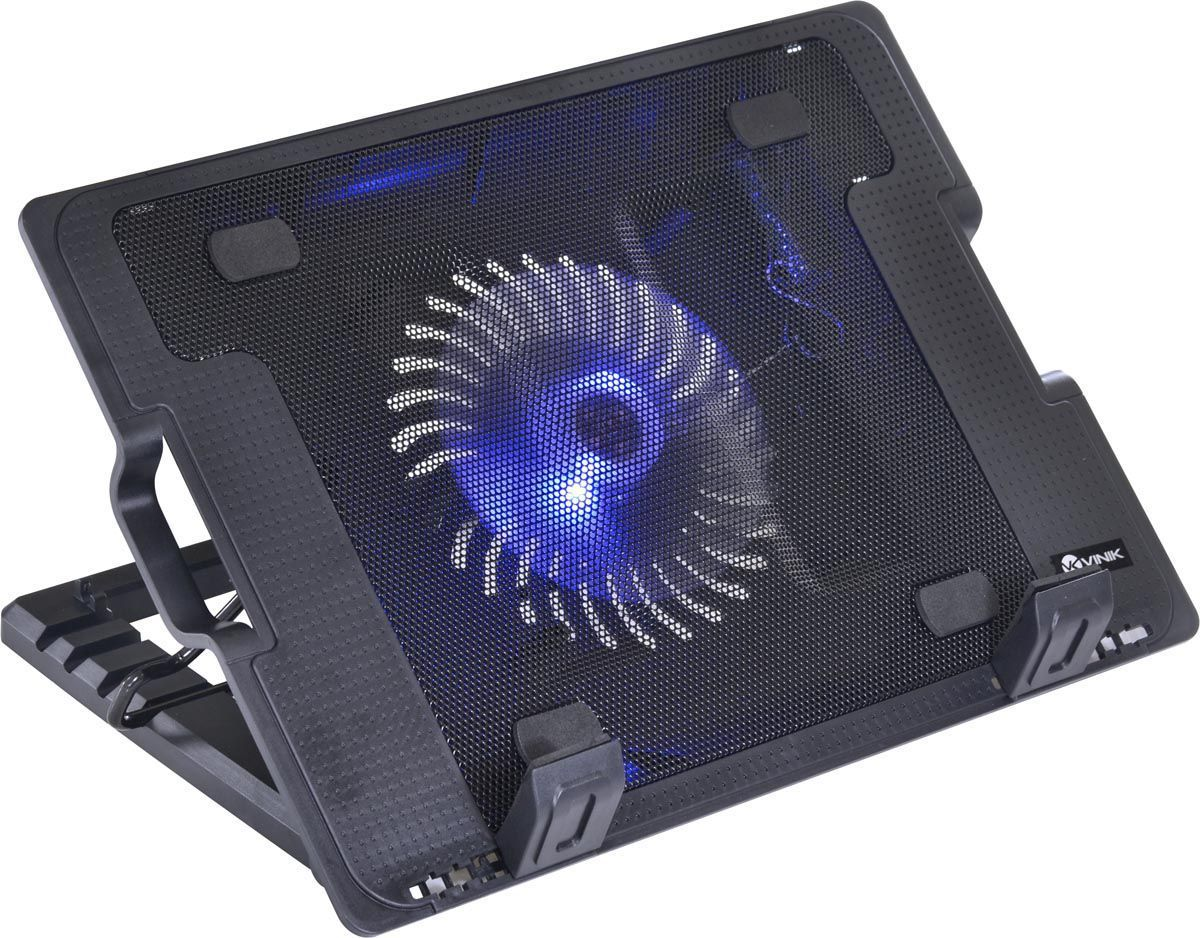Base para Notebook Até 15.6'' C/Regulagem Fan 140mm Ergomax Vinik