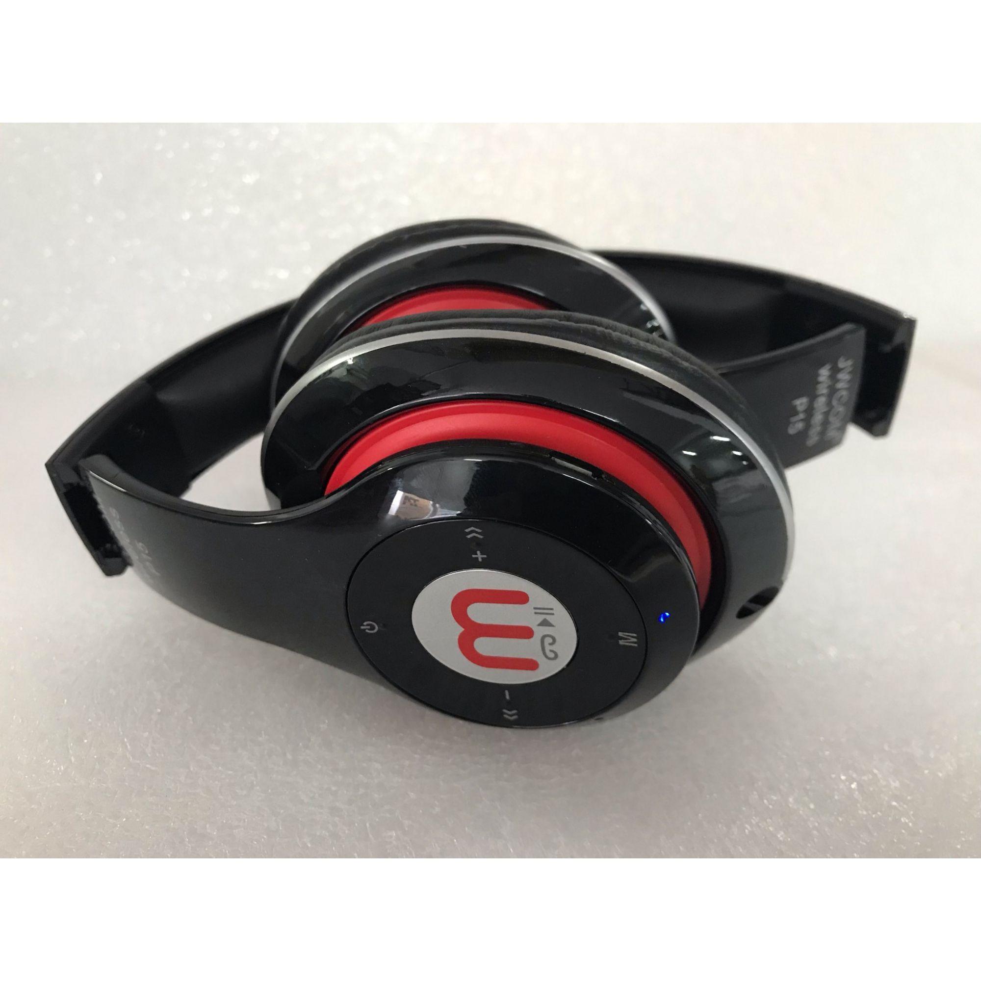 Fone de Ouvido Bluetooth c/Rádio FM FO-BT-P15 Preto
