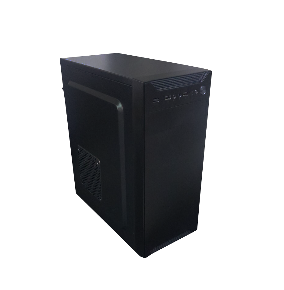 Gabinete ATX Entrada 2 USB + 1 USB 3.0  Áudio Black Sem Fonte 3601