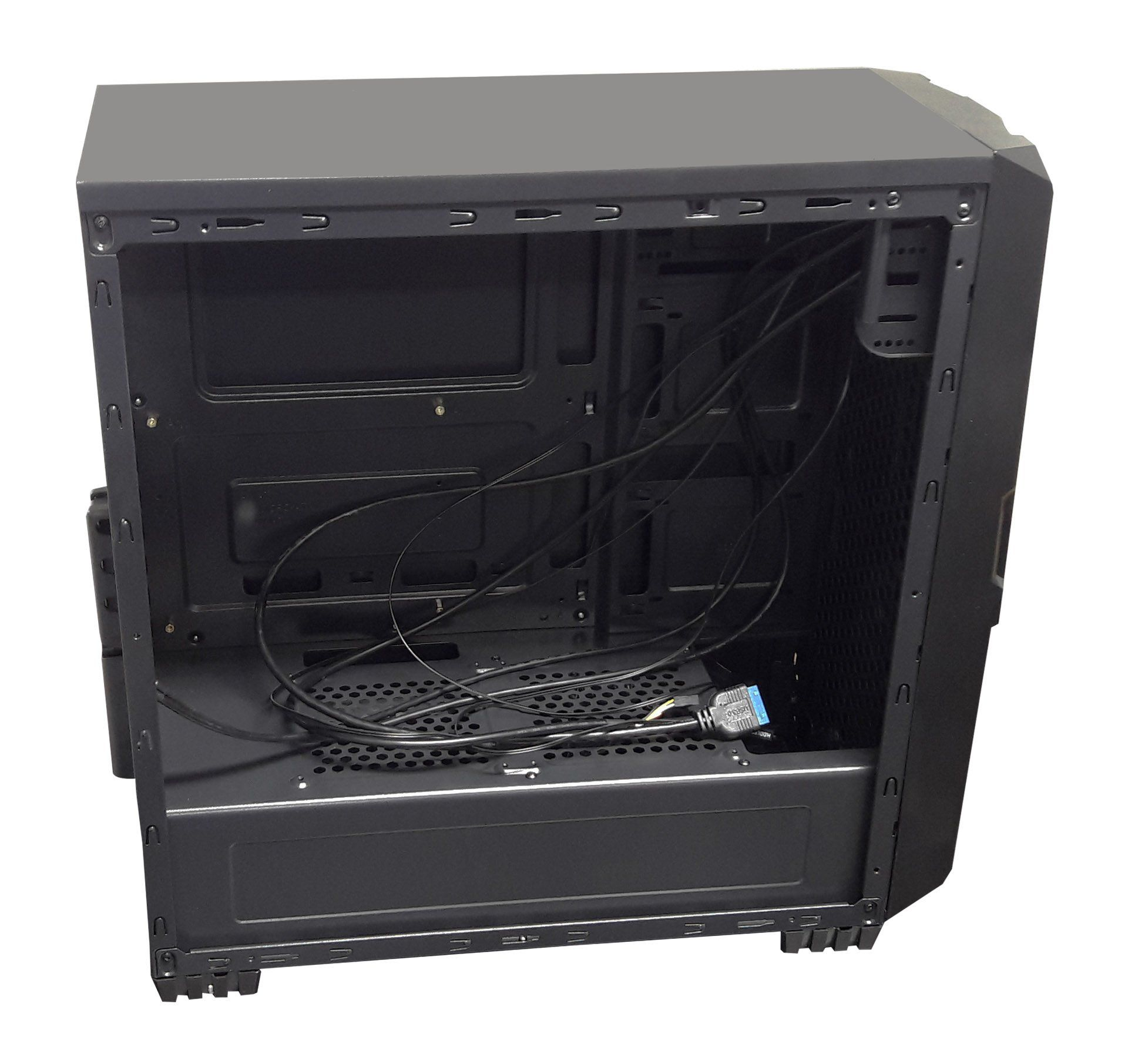 Gabinete Gamer 7005BR Black Lateral Acrílico Sem Fonte
