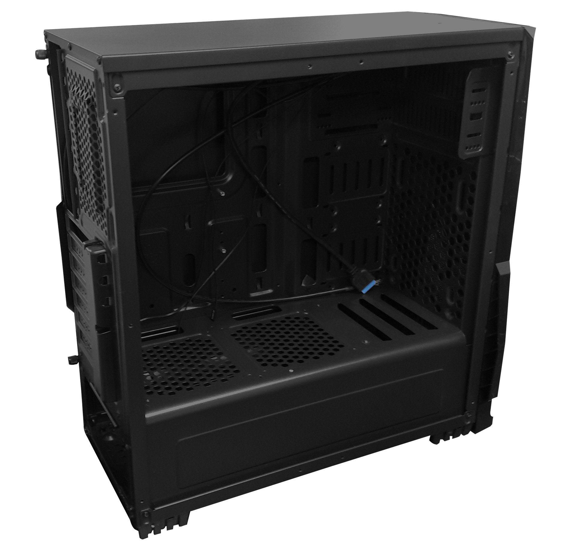 Gabinete Gamer BPC GM8001 Lateral Acrílico Black S/ Fonte