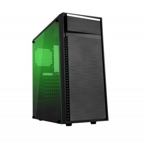 Gabinete Gamer USB 3.0 Frontal Lateral Transparente Bluecase BG-015 Preto