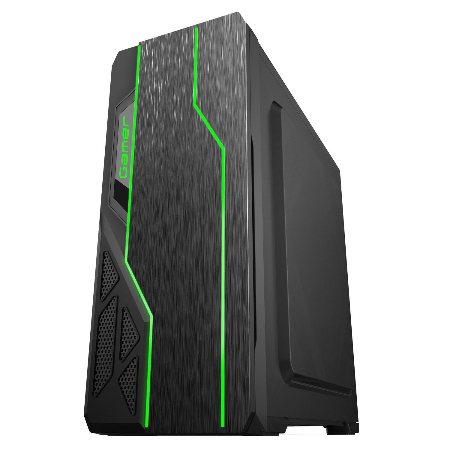 Gabinete Gamer Usb 3.0 Led Bluecase BG009 Preto